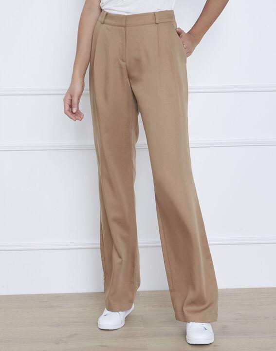 Pantalon beige large Giovanni (2) - Maison 123