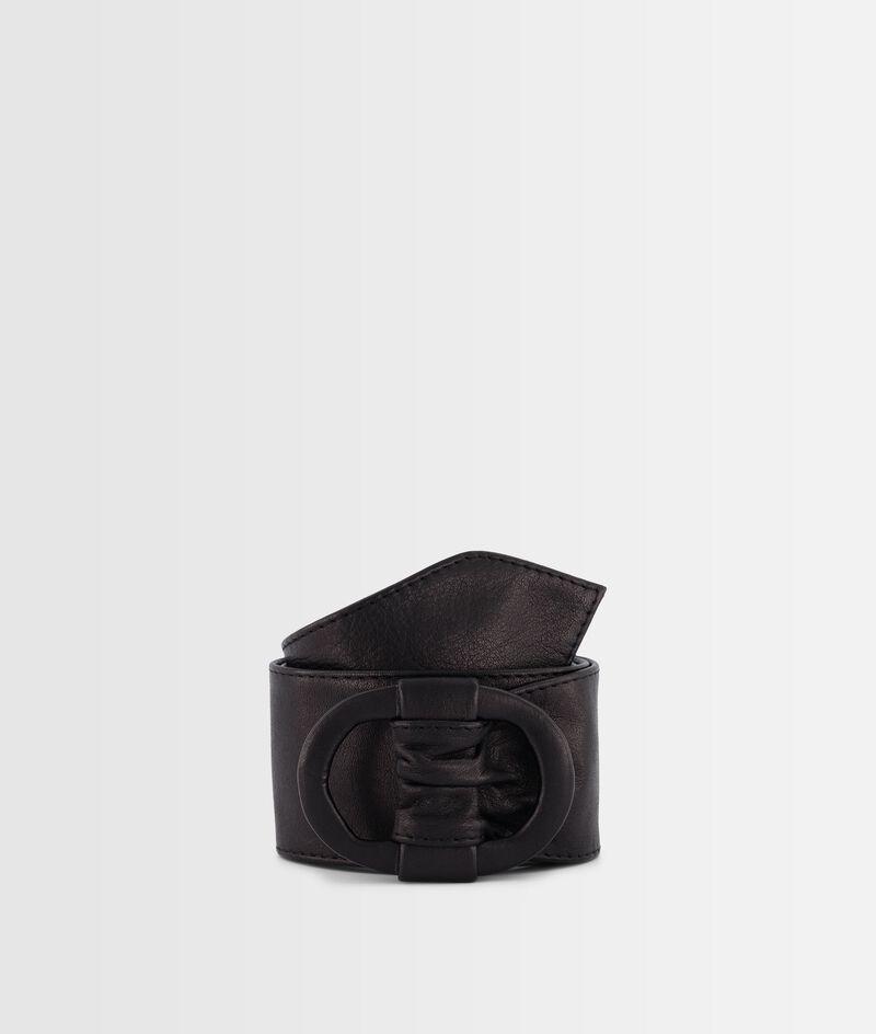 Ceinture large en cuir souple noir Elya PhotoZ | 1-2-3