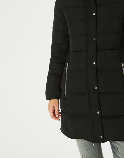 Lise mid-length black puffer jacket (3) - 1-2-3