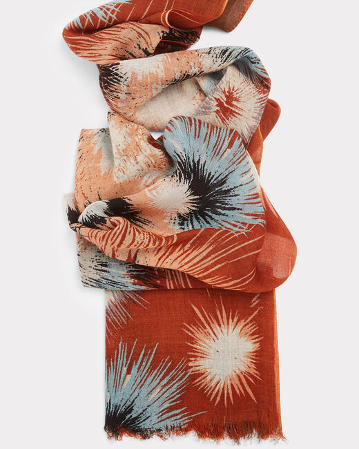Exquis guava printed scarf (1) - 1-2-3