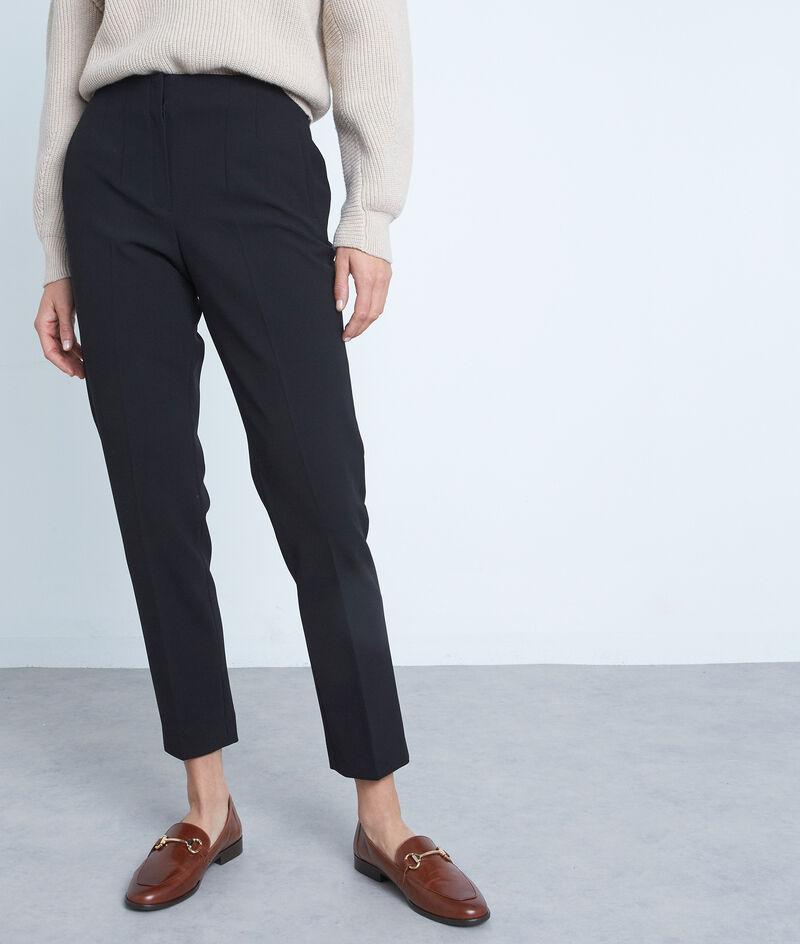 Pantalon de tailleur ajusté noir Dixon PhotoZ | 1-2-3