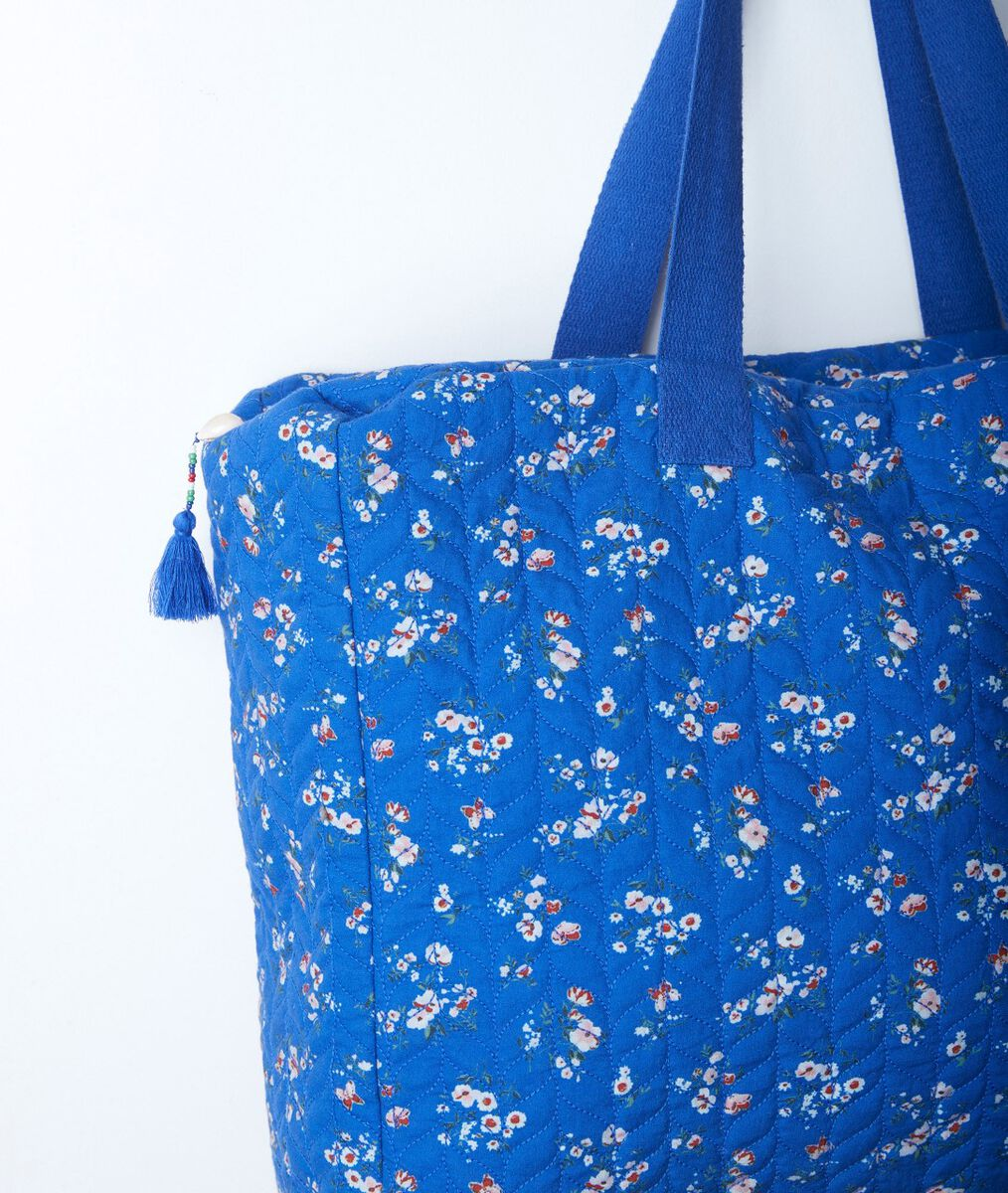 Sac en coton imprimé fleuri Daryl PhotoZ | 1-2-3