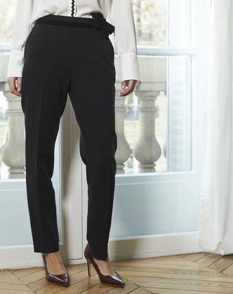 Horest black cigarette pants black.
