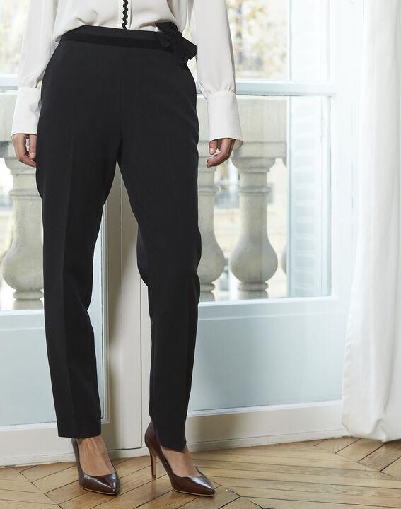 Pantalon noir cigarette Horest (2) - 1-2-3