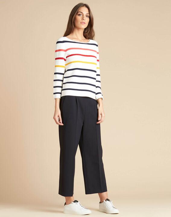 Nacadamia white striped ottoman sweater (3) - 1-2-3