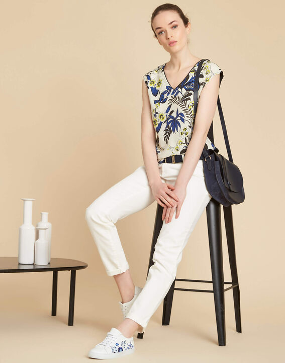 Vavin low-waisted white boyfriend jeans (2) - 1-2-3