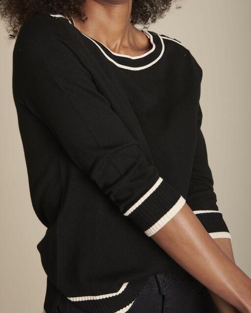 new concept ea1bf 6ad85 Damenpullover : Pullover mit Rundhalsausschnitt | Maison 123