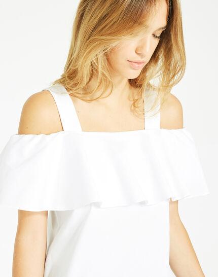 Top blanc épaules dénudées Emerine (3) - 1-2-3