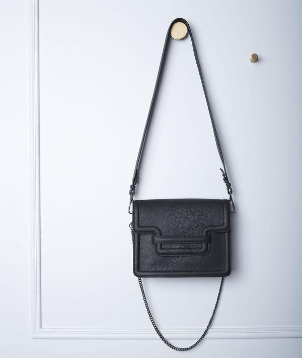 Le 123 en cuir noir PhotoZ | 1-2-3