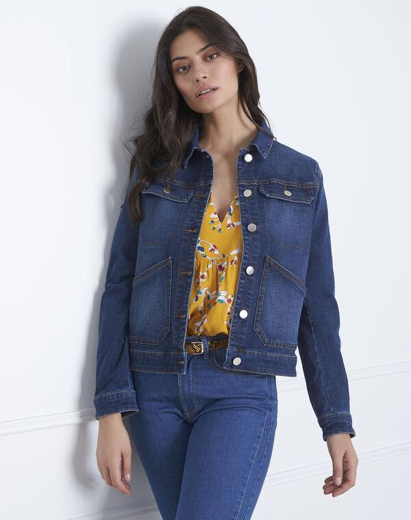 First indigo jean jacket (1) - Maison 123 7d50d282d