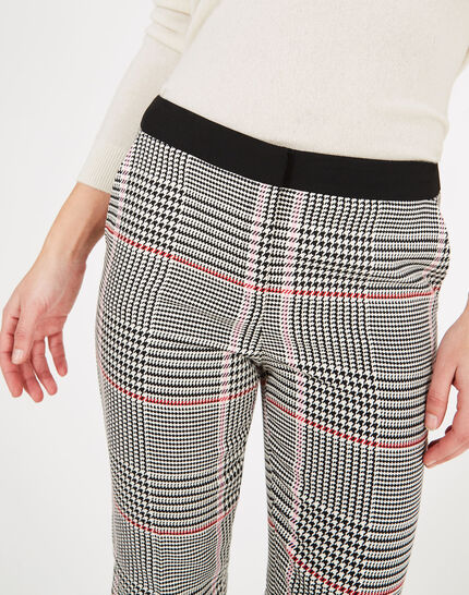 Business-Hose mit Glencheck-Muster Lara 2 (2) - 1-2-3