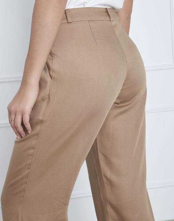 Pantalon beige large Giovanni (4) - Maison 123