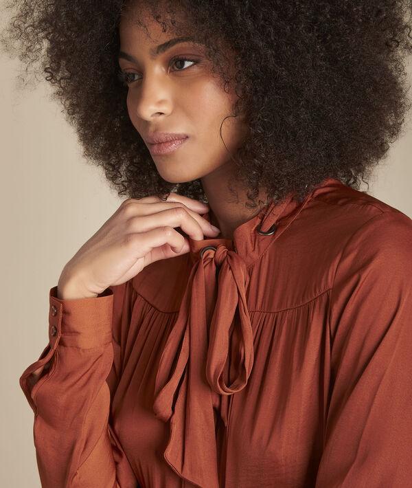 Acajou overhemd met sluiting met oogjes en sjaaltje Maud PhotoZ | 1-2-3