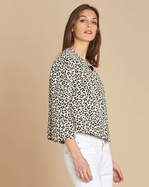 Celly animal print bolero (2) - 1-2-3