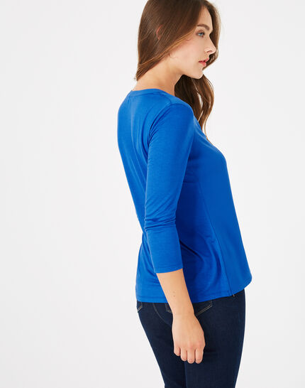 Blue t-shirt Bianca (5) - 1-2-3