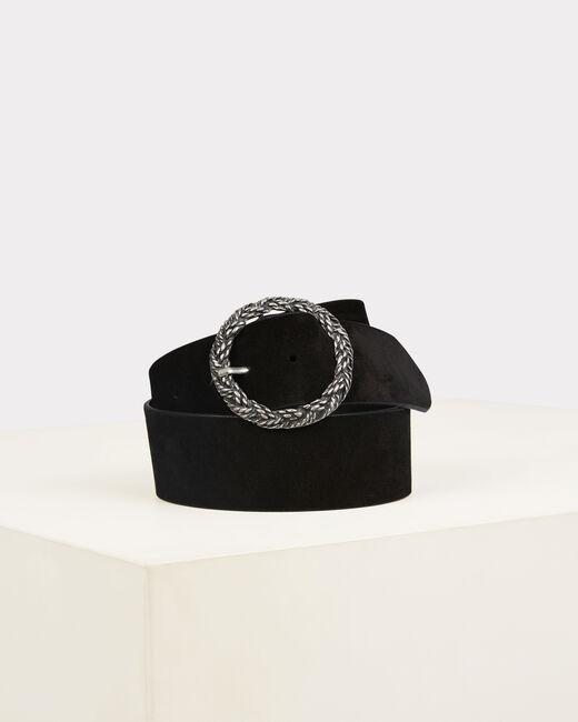 Ofelia black leather belt (2) - 1-2-3