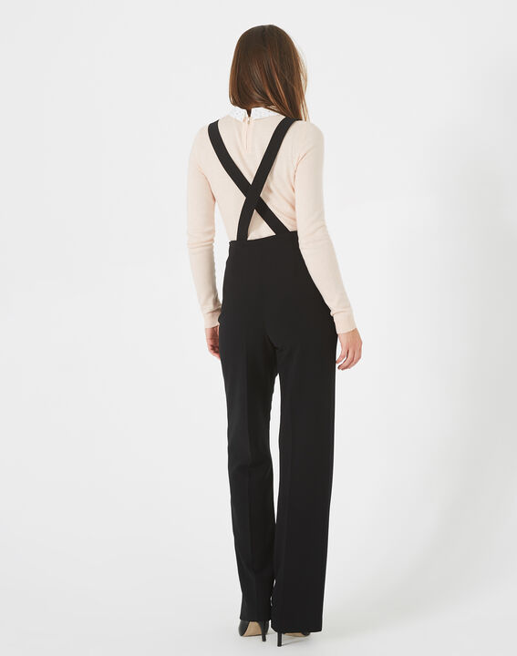 Valeur tailored black trousers with buttons and braces (5) - 1-2-3