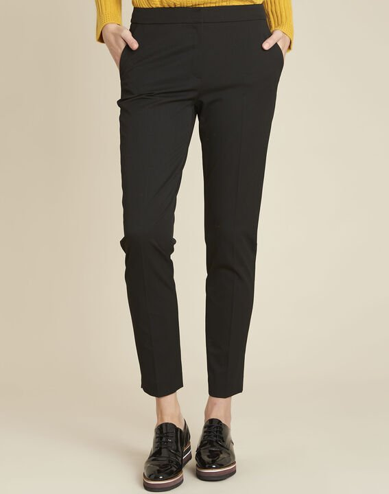 Helsy black cigarette-cut trousers PhotoZ | 1-2-3
