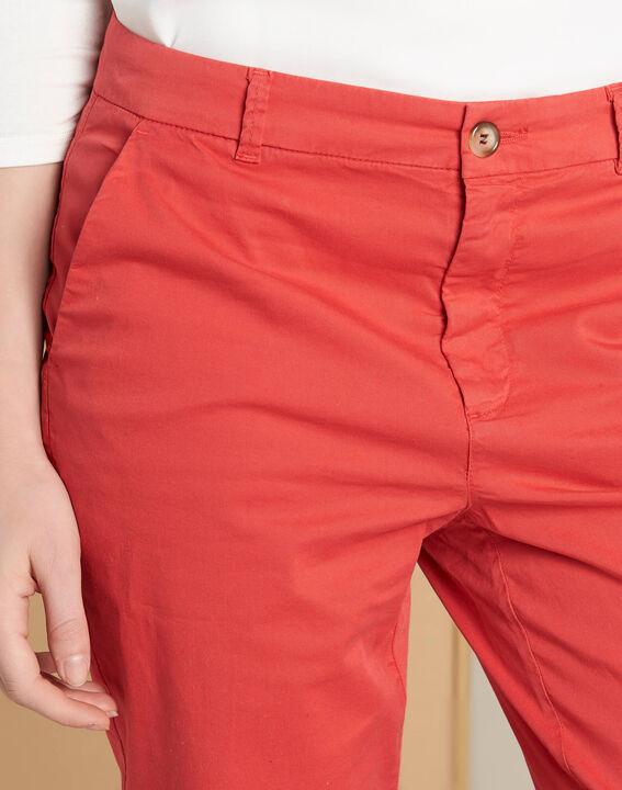 Pantalon frambroise chino à revers Victoria (1) - 1-2-3