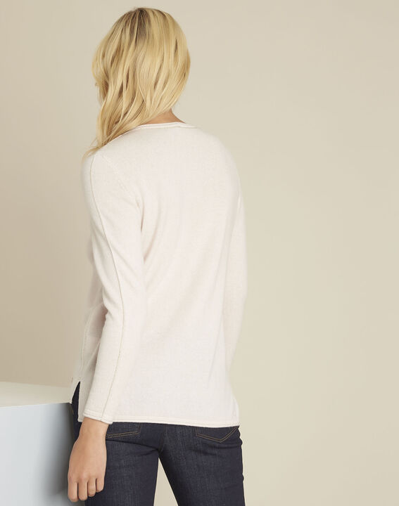 Pull nude laine cachemire boogie (4) - 1-2-3