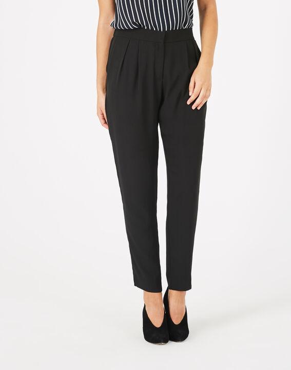 Pantalon noir en crêpe Daria PhotoZ | 1-2-3