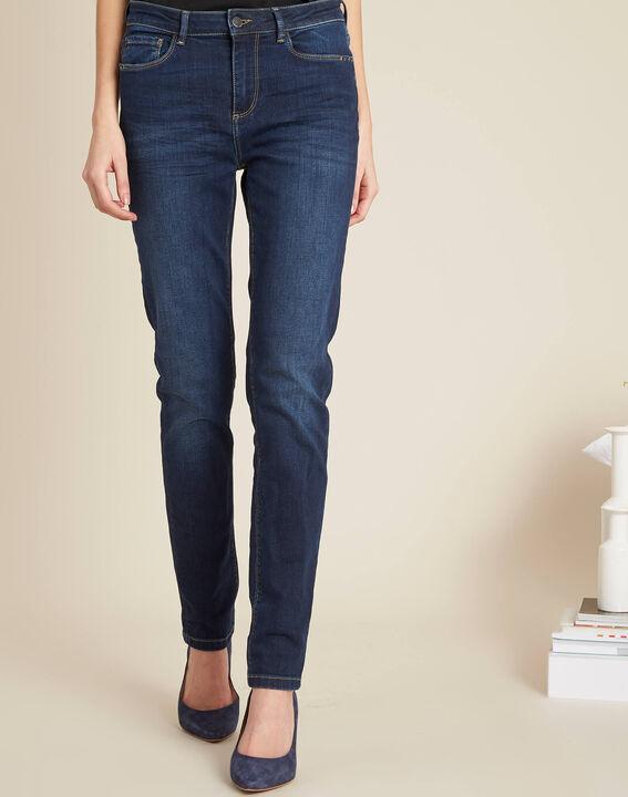 Blaue Slim-Fit-Jeans mit normaler Leibhöhe Vendome (3) - 1-2-3