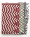 Roter Schal mit grafischem Druckmuster Figara (1) - 1-2-3