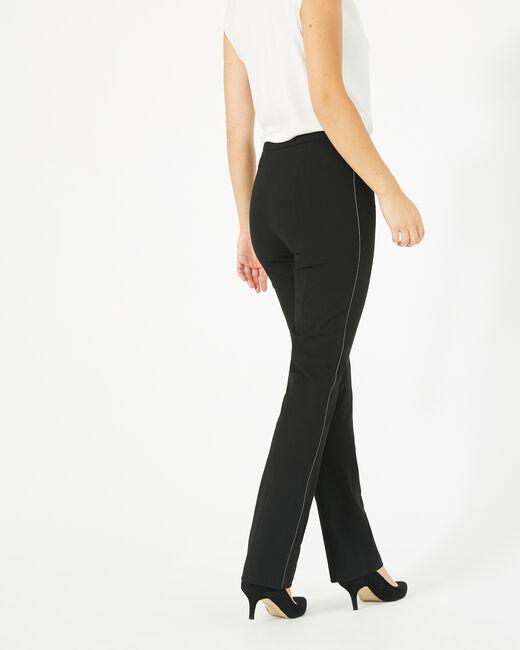 Pantalon de tailleur noir Vilona (1) - 1-2-3