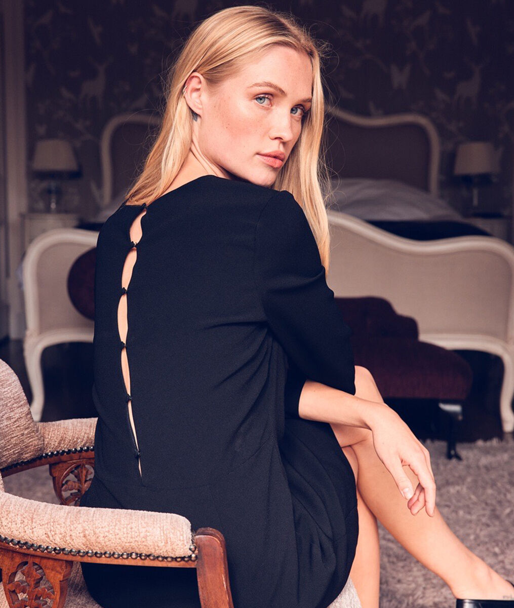La petite robe noire idéale Sienna  PhotoZ   1-2-3