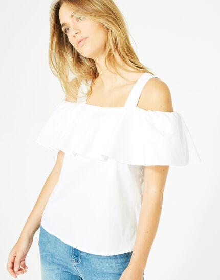 Top blanc épaules dénudées Emerine (2) - 1-2-3