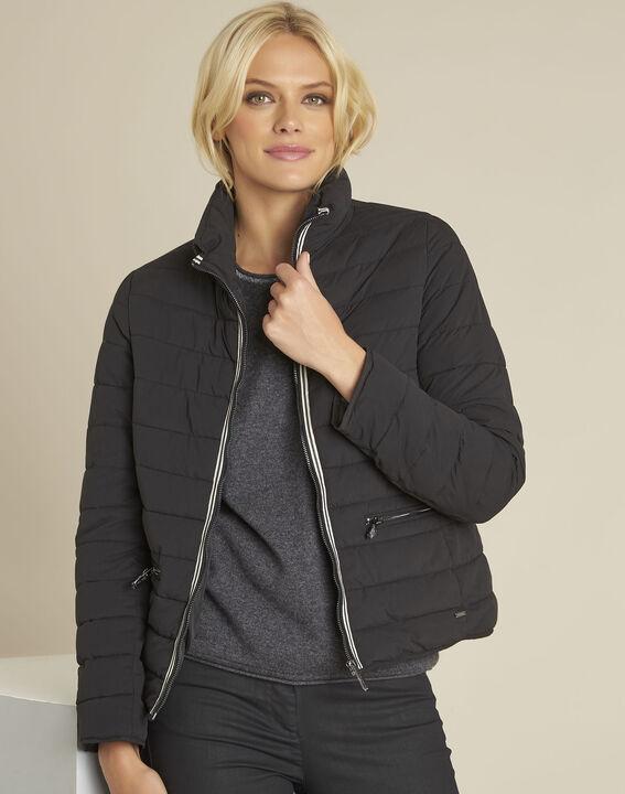 Pepite short black zipped down jacket PhotoZ | 1-2-3