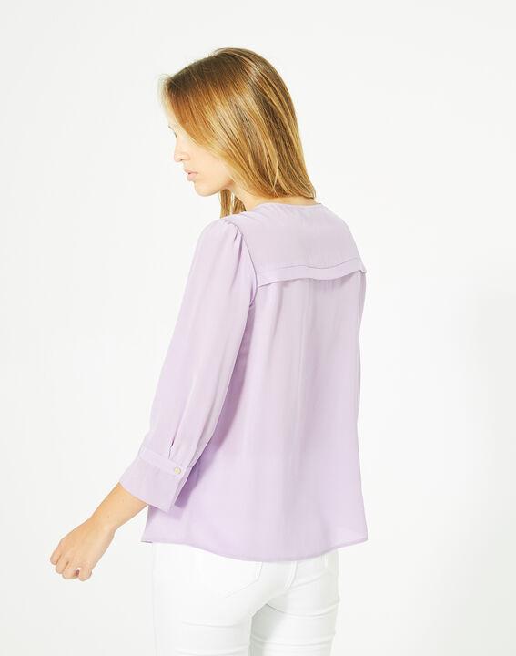 Dorothée lilac silk blouse (5) - 1-2-3