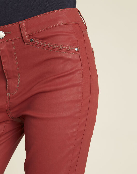 Acajou slim fit 7/8-jeans met coating Opera (3) - 37653