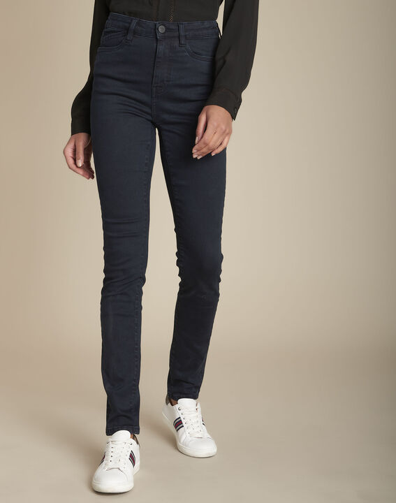 Le Vertigineux sculpt jean blue black Sabrina PhotoZ | 1-2-3