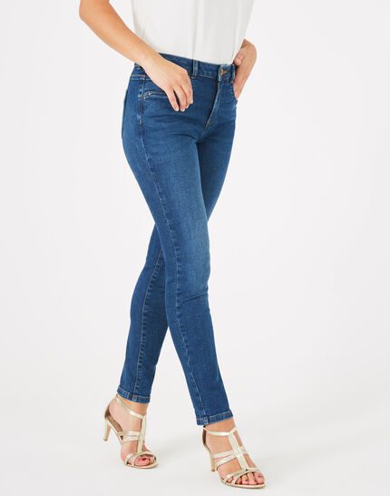 Oliver indigo stonewashed 7/8 length jeans PhotoZ | 1-2-3
