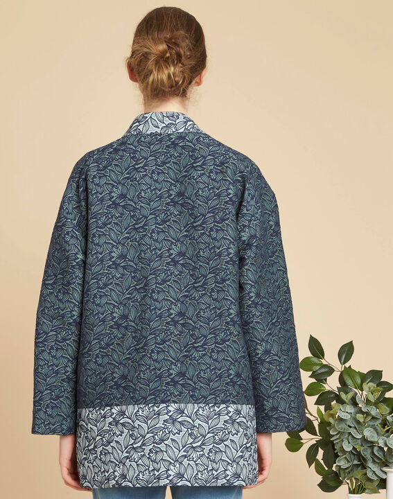 Cassa textured jacket with print (4) - 1-2-3