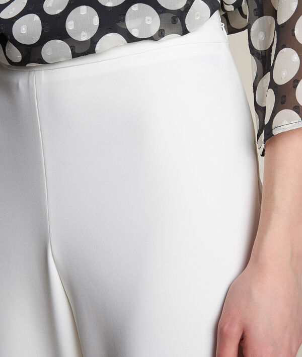 Pantalon large en microfibre Irene PhotoZ | 1-2-3