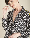 Cathleen white shirt with leaf print (2) - 1-2-3