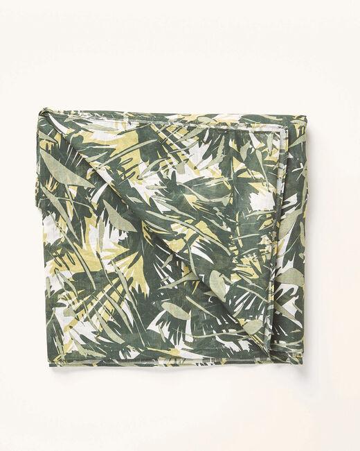 Khakifarbenes Halstuch mit Camouflage-Print Alo (1) - 1-2-3
