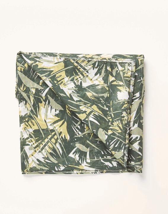 Kaki sjaaltje met camouflageprint Alo (2) - 37653