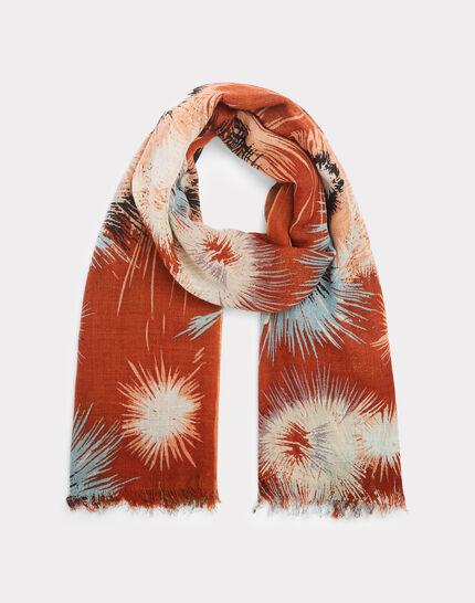 Exquis guava printed scarf (2) - 1-2-3