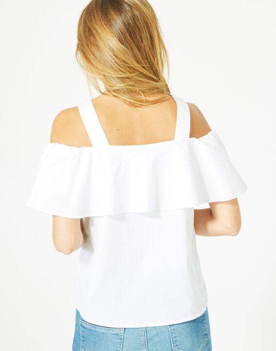 Top blanc épaules dénudées Emerine (5) - 1-2-3