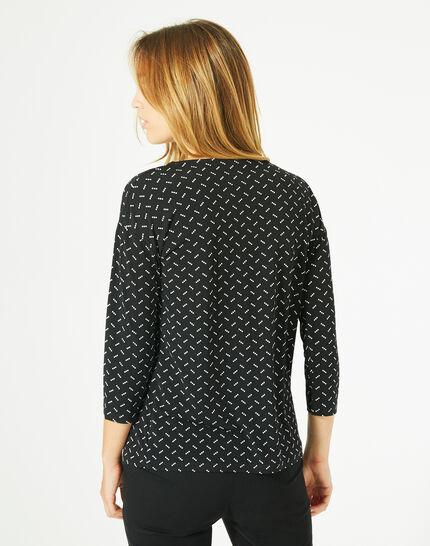 Bruna black polka dot T-shirt (5) - 1-2-3