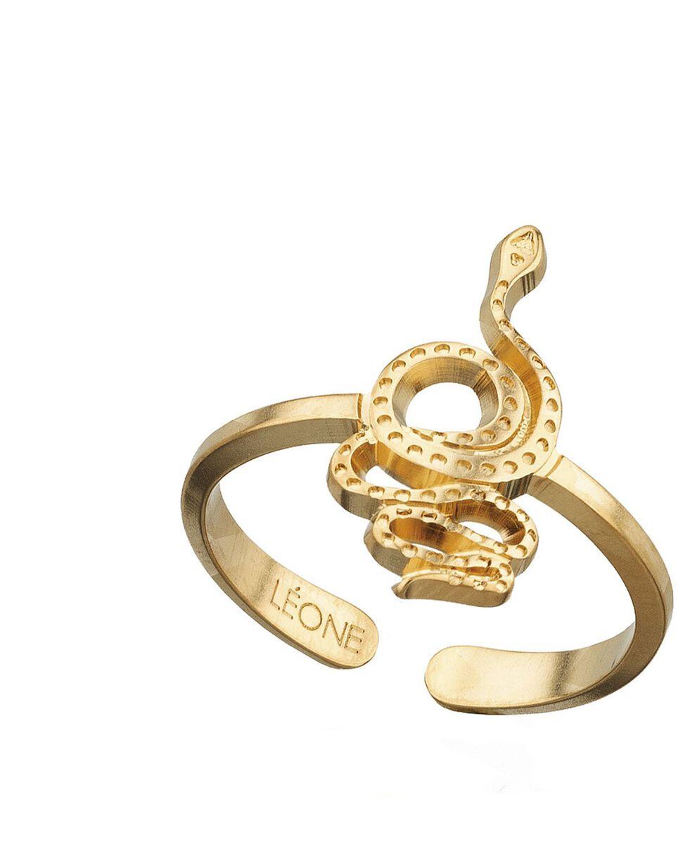 Bague serpent or Bijoux Léone PhotoZ | 1-2-3