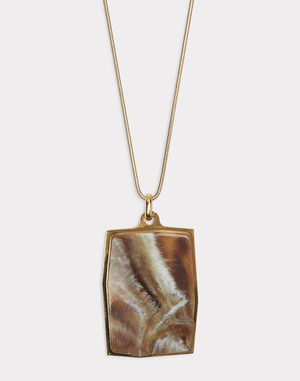 Idalie marble effect necklace (1) - 1-2-3