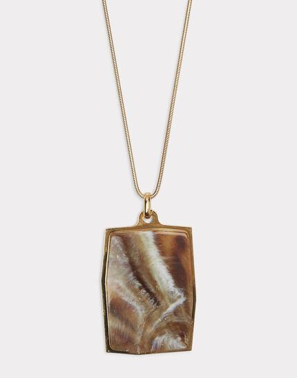 Lange Halskette mit Marmoreffekt Idalie (1) - 1-2-3