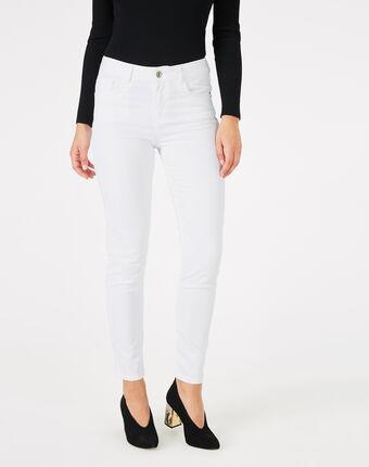 Pantalon blanc 7/8ème oliver blanc.