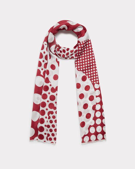 Evora polka dot silk scarf (1) - 1-2-3