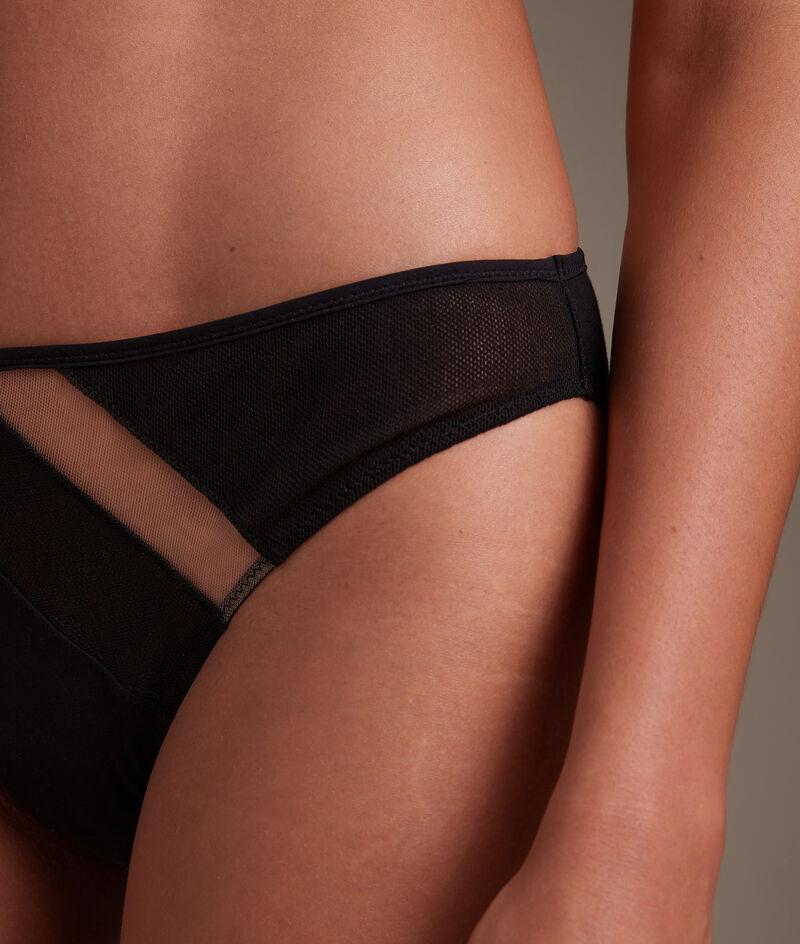 Culotte en tulle coton GOTS noir Rachel PhotoZ | 1-2-3