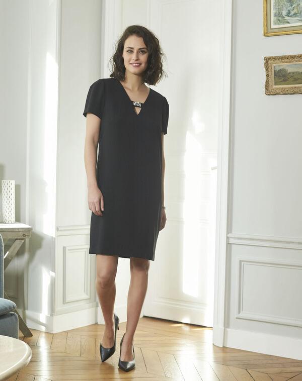 Noel Jeweled Black Dress (2) - 1-2-3